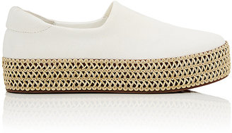 Opening Ceremony Women's Cici Twill Platform Sneakers $250 thestylecure.com