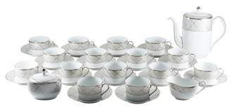 Haviland 34-Piece Clair de Lune Coffee Service