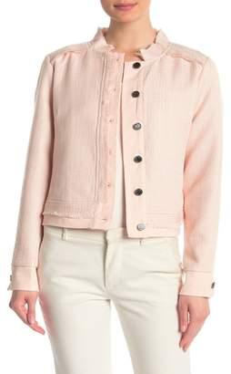 DKNY Combo Tweed Jacket