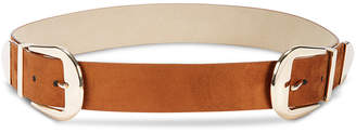 INC International Concepts I.n.c. Clean Double-Buckle Belt