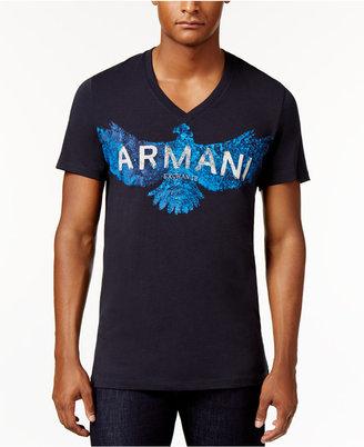 Armani Exchange Men's Graphic-Print T-Shirt $44.50 thestylecure.com