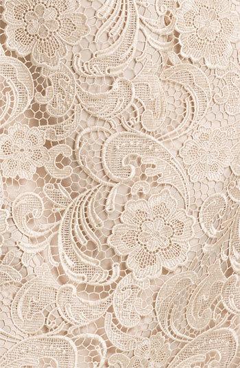 Adrianna Papell Plus Size Women's Sleeveless Lace Dress