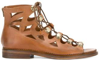 Strategia lace-up sandals
