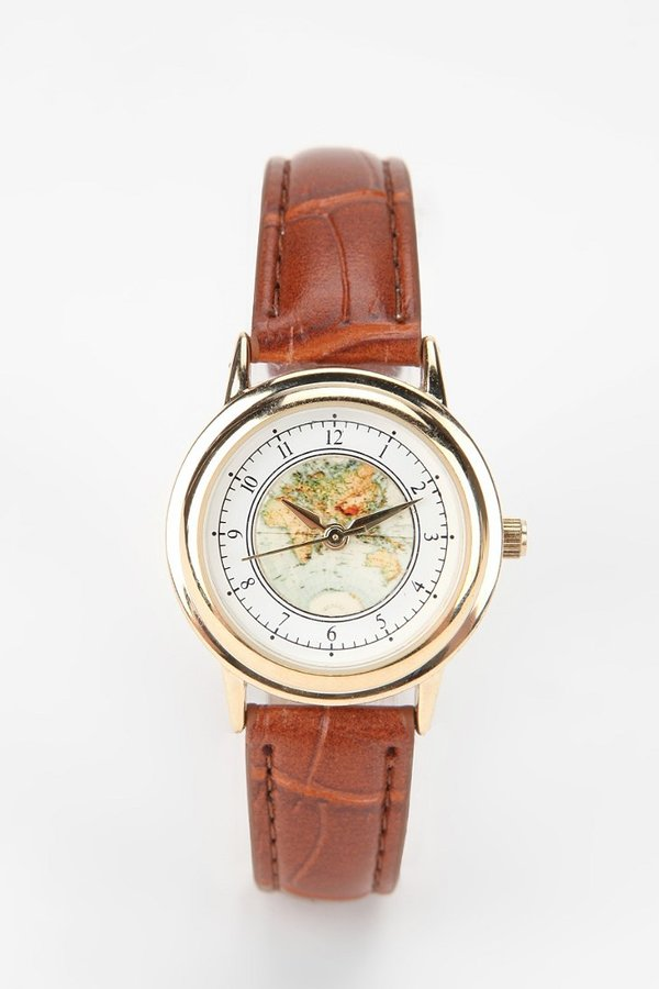 Urban Outfitters Globe Watch
