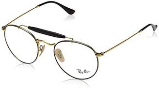 Ray-Ban Unisex-Adult's 37V Optical Frames, Negro