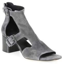 Rag & Bone Matteo Cutout Suede Block-Heel Sandals