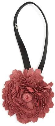 Loewe X William Morris flower bag charm