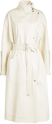 Victoria Beckham Victoria High Neck Cotton Dress