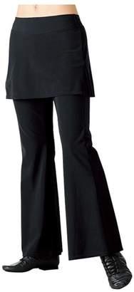 Chacott スカート付きブーツカットスパッツ(C)FDB