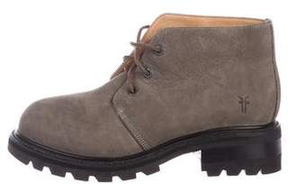 Frye Nubuck Ankle Boots