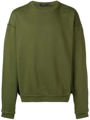 Haider Ackermann Somewhere back print sweatshirt
