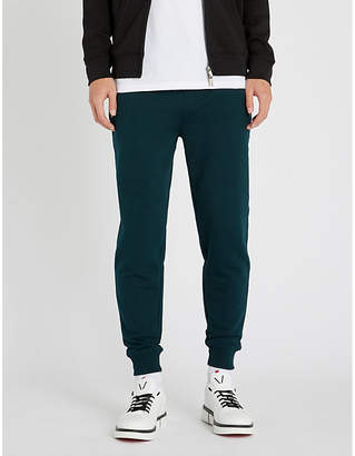 HUGO Relaxed-fit cotton-jersey jogging bottoms