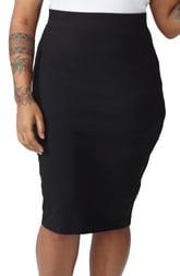Universal Standard Danuble Heavyweight Jersey Pencil Skirt