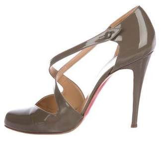 Christian Louboutin Triclo 100 Patent Leather Pumps