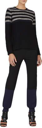 BCBGMAXAZRIA Wanda Colorblocked Pullover
