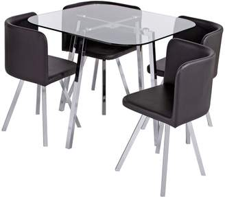 f40c022842b Glass Dining Room Tables And Chairs - ShopStyle UK