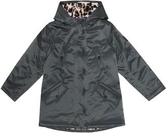 Bonpoint Mountain faux fur-lined raincoat