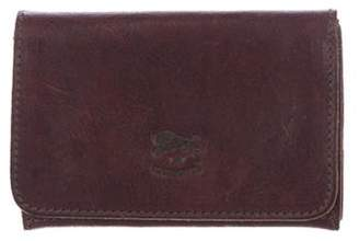 Il Bisonte Leather Card Holder