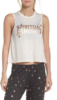 Spiritual Gangster Active Crop Tank
