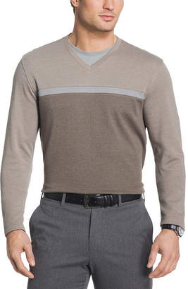 Van Heusen Long Sleeve Layered Top