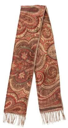 Etro Printed Silk Shawl