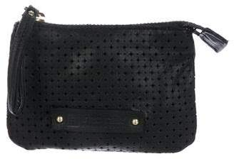 Linea Pelle Perforated Coin Pouch