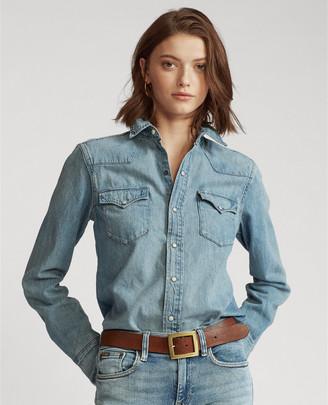 Ralph Lauren Denim Western Shirt
