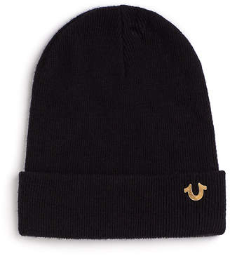 True Religion MENS HORSESHOE BEANIE