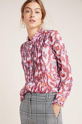 Geisha Designs Penelope Pleated Blouse