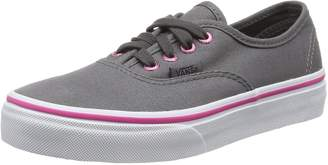 Vans Authentic Youth US 12 Gray Sneakers