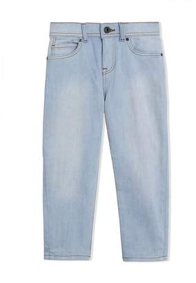 Burberry TEEN fitted jeans
