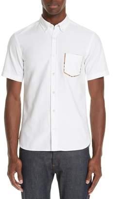 Burberry Harry Check Trim Sport Shirt
