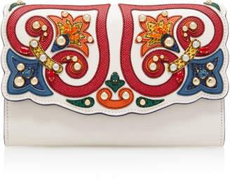 Dolce & Gabbana Vintage Leather Wallet Bag