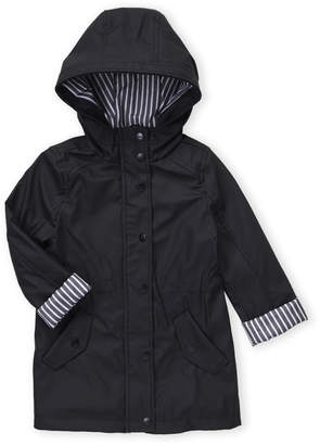 Urban Republic Girls 4-6x) Black Anorak Raincoat