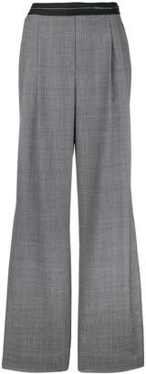 Prada Prince of Wales flared trousers