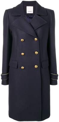 Pinko double-breasted coat