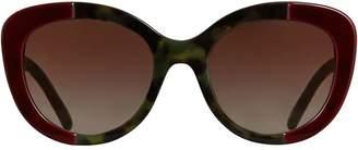 Burberry Round Frame Sunglasses