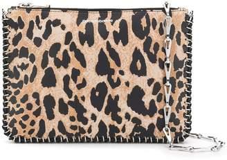 ac1fde4fb7 Paco Rabanne leopard clutch bag