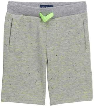 Andy & Evan Grey French Terry Shorts (Toddler & Little Boys)