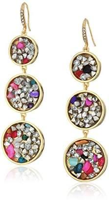"""ABS by Allen Schwartz Venice Beach"""" Triple Drop Pierced Earrings"""
