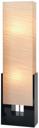 "Uma Wood Floor Lamp 48""H"