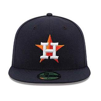 New Era 59FIFTY Houston Astros MLB 2017 Authentic Collection On Field Home Fitted Cap