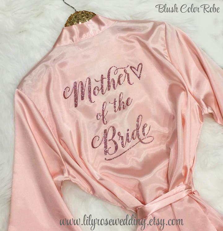 Etsy Bridesmaid Robes - Bridesmaid Gifts, Satin Silk Robe, Robe, Bridal Robe, Mother of the Bride, Bridal