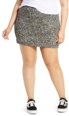 BP Rainbow Marl Sweater Miniskirt