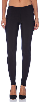 Plush Matte Spandex Fleece Lined Legging