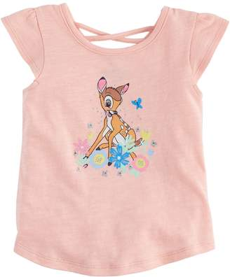 Disneyjumping Beans Disney's Bambi Baby Girl Cross-Back Tee by Jumping Beans