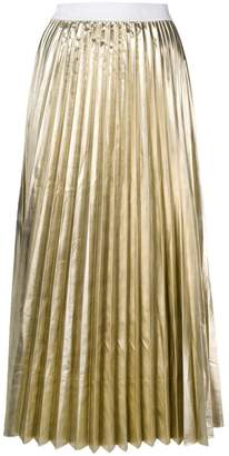 P.A.R.O.S.H. high-waist pleated skirt