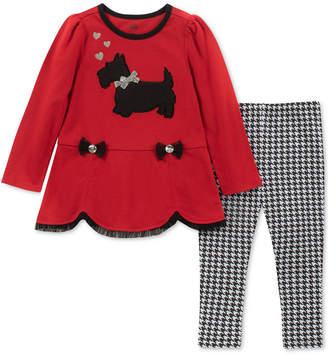 Kids Headquarters Toddler Girls 2-Pc. Scottie Dog Tunic & Leggings Set
