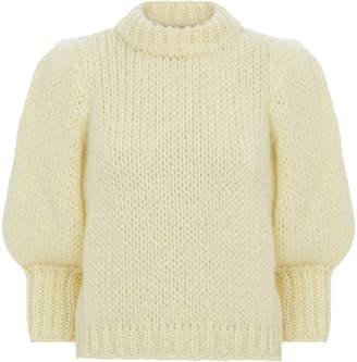 Ganni Julliard Cropped Sweater