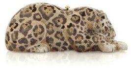 Judith Leiber Wildcat Crystal Clutch $5,495 thestylecure.com